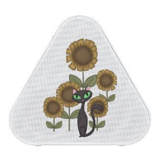 Sunflower Black Cat Speaker