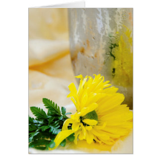 Sunflower Blank Card