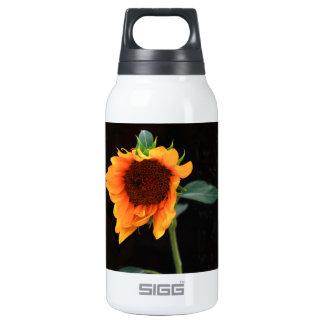 Sunflower bloom insulated water bottle