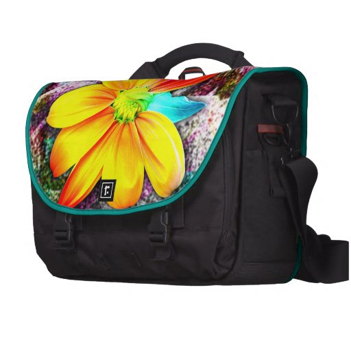 Sunflower Bloom Laptop Bags