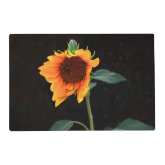 Sunflower bloom placemat