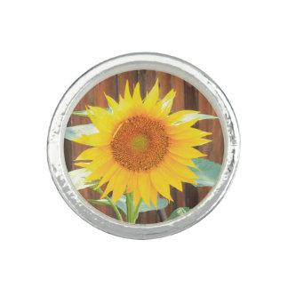 Sunflower Bloom Rings