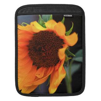 Sunflower bloom sleeve for iPads
