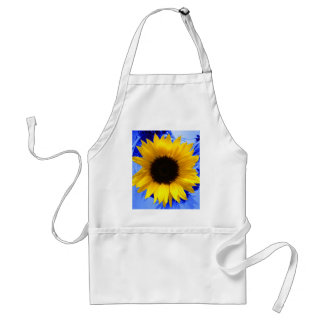 Sunflower Blue Adult Apron