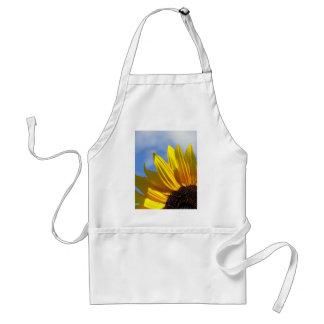 Sunflower Blue Sky Adult Apron