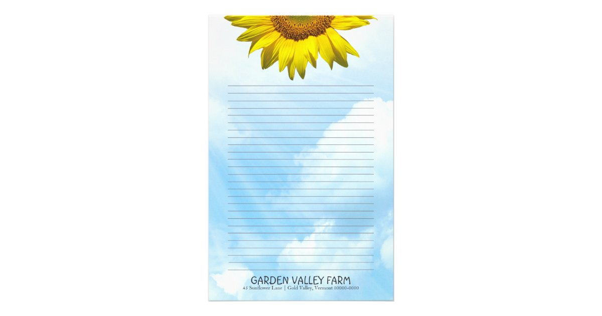 Stationery Paper With Lines Paper and SuchFree Printable – Stationery Paper with Lines