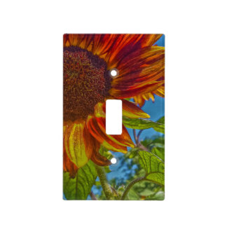 Sunflower Bonnet Single Toggle Switch Plate Covers