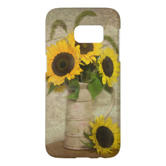 Sunflower Bouquest Samsung Galaxy S7 Case