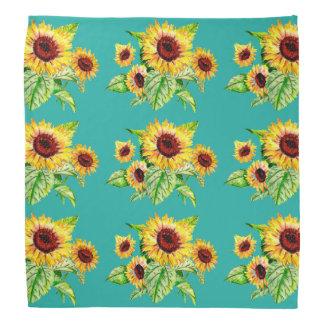 Sunflower Bouquet Bandana