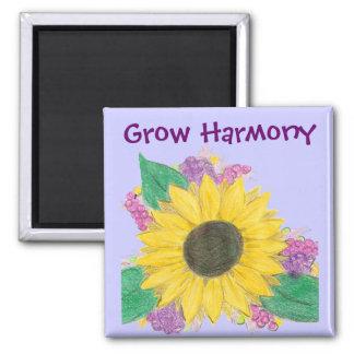 Sunflower Bouquet - Grow Harmony Magnet
