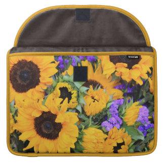 Sunflower Bouquet MacBook Pro Sleeve