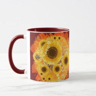 Sunflower Bouquet Mug