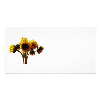 Sunflower Bouquet Photo Cards