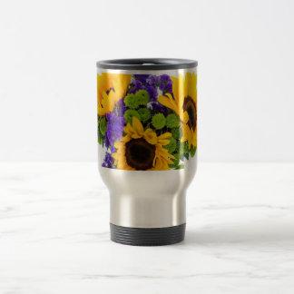 Sunflower Bouquet Travel Mug