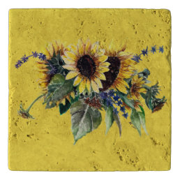 Sunflower Bouquet Trivet