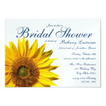 Sunflower Bridal Shower 5x7 Paper Invitation Card
