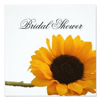 Sunflower Bridal Shower Invitation