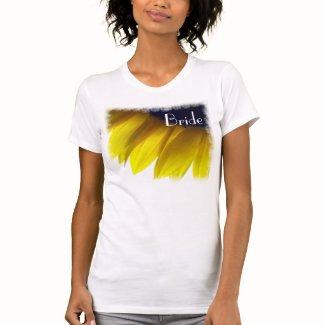 Sunflower Bride T-Shirts T Shirts