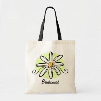 Sunflower Bridesmaid Tote Bag