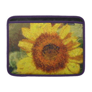 Sunflower bright and yellow sleeve for MacBook air