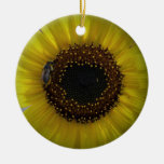 Sunflower bumble Bee 01 Ornament