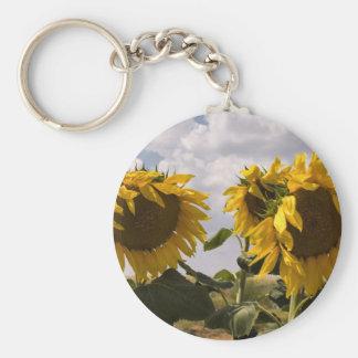 Sunflower Bunch Keychains