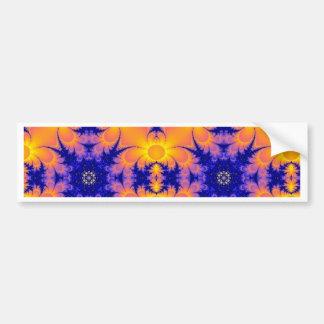 Sunflower Burst Bumper Sticker