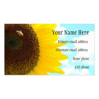 Sunflower Business Card (2)
