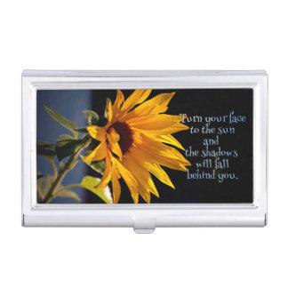 Sunflower Business Card Case