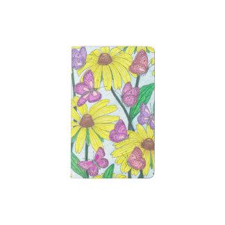 Sunflower Butterfly Garden Notebook