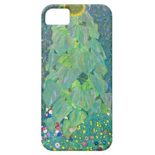 Sunflower by Klimt, Vintage Flowers Art Nouveau iPhone SE/5/5s Case