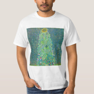 Sunflower by Klimt, Vintage Flowers Art Nouveau T-Shirt