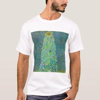 Sunflower by Klimt, Vintage Flowers Art Nouveau T-Shirt