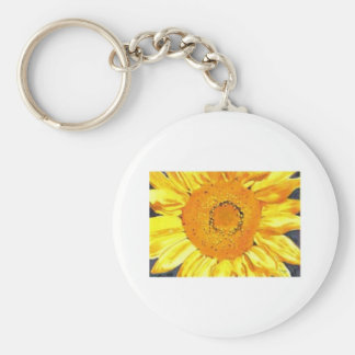 Sunflower by Paula Atwell Keychain