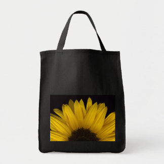 SunFlower Canvas Grocery Bag
