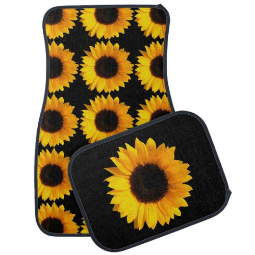 Sunflower Car Mats