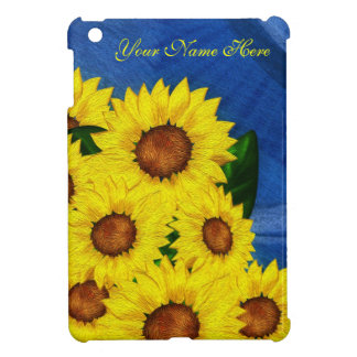 Sunflower Case Savvy iPad Mini iPad Mini Covers