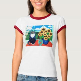 Sunflower Cat-toddler T-shirts