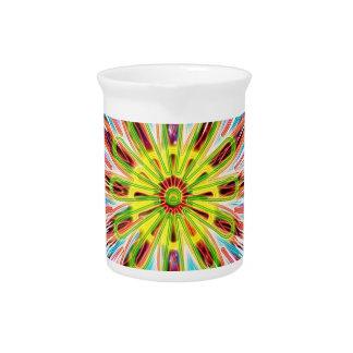 SunFlower Chakra Sparkle - Happy Colors Pitchers