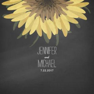 Sunflower Wedding Plates | Zazzle