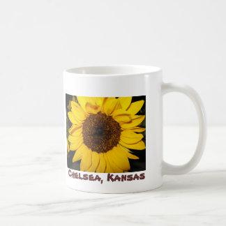 Sunflower, Chelsea, Kansas Coffee Mug