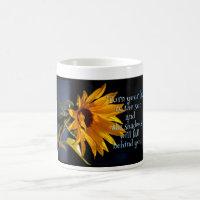 Sunflower Classic White Coffee Mug