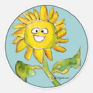 Sunflower Clipart Sticker