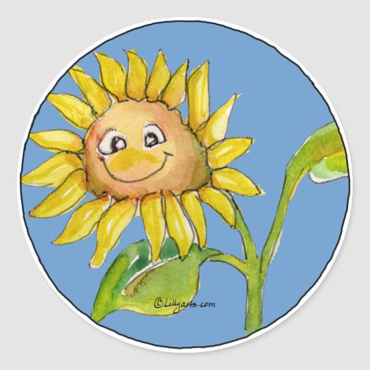 Sunflower Clipart Sticker 10