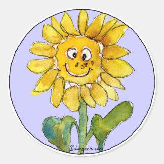 Sunflower Clipart Sticker 3