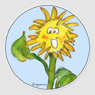 Sunflower Clipart Sticker 4