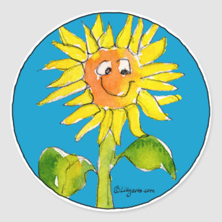 Sunflower Clipart Sticker 5