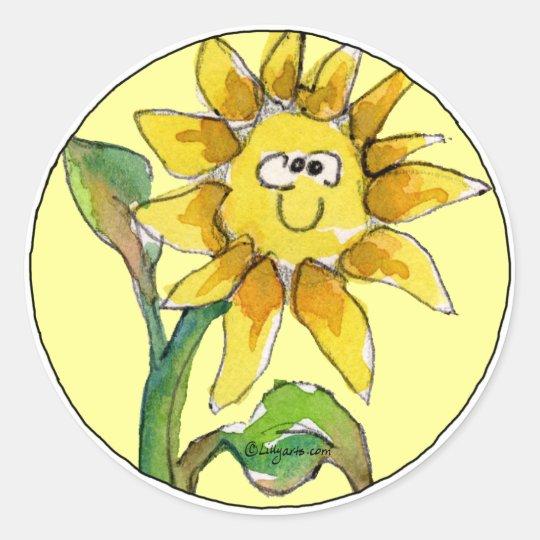 Sunflower Clipart Sticker 9 | Zazzle.com