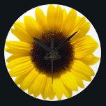 """Sunflower Clock<br><div class=""""desc"""">Sunflower Clock Ukrainian Design</div>"""