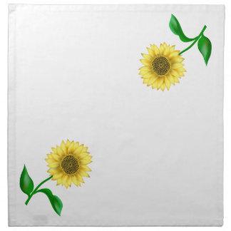 Sunflower Cloth Napkin